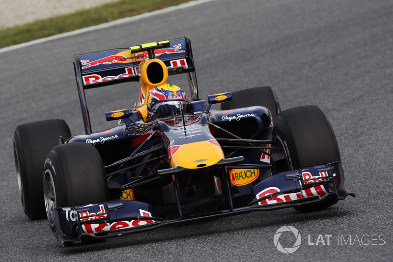 2010: Марк Уэббер, Red Bull-Renault RB6