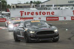 #10 PF Racing Ford Mustang GT4: Vinnie Allegretta