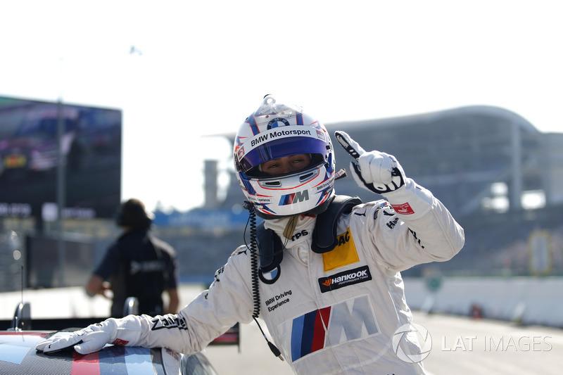 Володар поулу Том Бломквіст, BMW Team RBM, BMW M4 DTM