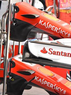 Ferrari SF70H nose