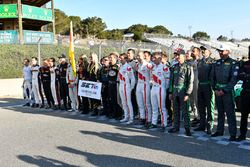 Pre-race activities remembering Sean Edwards