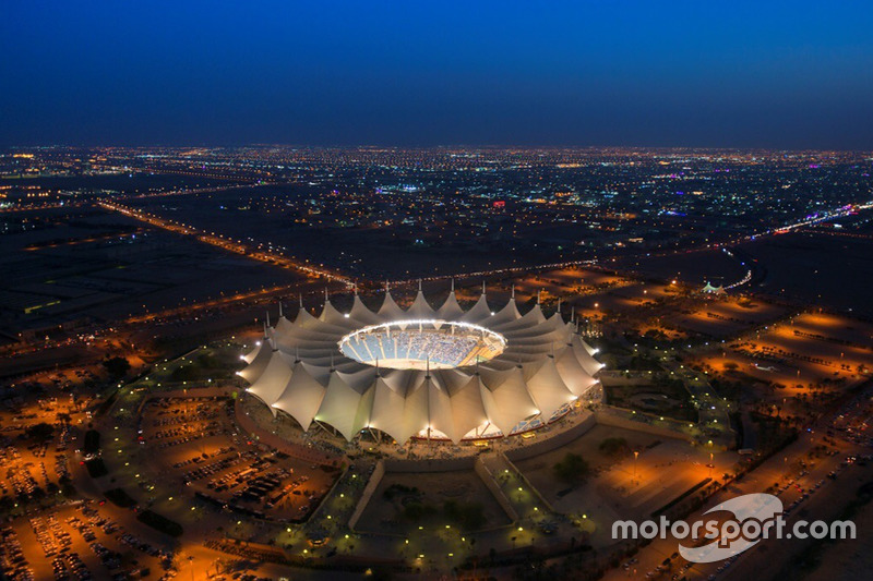 Estadio King Fahd International Stadium en Riyadh, Arabia Saudí