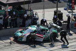 #29 Montaplast by Land Motorsport Audi R8 LMS GT3, GTD: Sheldon van der Linde, Christopher Mies, Pit Stop