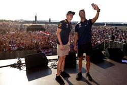 Max Verstappen et Daniel Ricciardo, Red Bull Racing