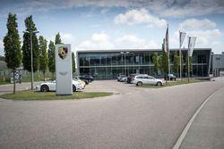 Edificio di Porsche Motorsport