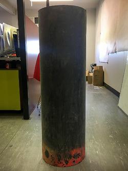 Tube de polyéthylène haute densité