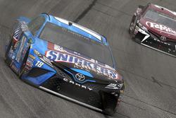 Kyle Busch, Joe Gibbs Racing Toyota, Gray Gaulding, BK Racing Toyota