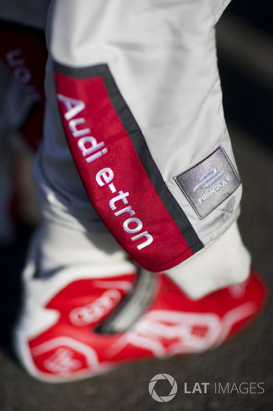 Racing overalls of Daniel Abt, Audi Sport ABT Schaeffler