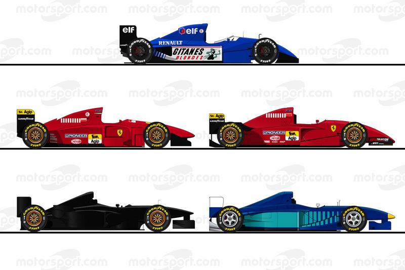 Les F1 méconnues testées par Michael Schumacher