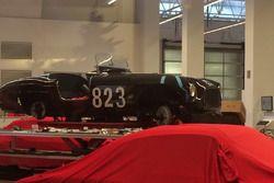 Ferrari d'epoca in restauro