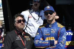 Michael Andretti, Alexander Rossi, Herta - Andretti Autosport Honda