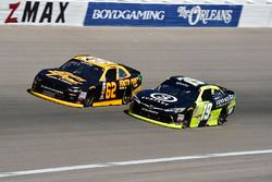 Brendan Gaughan, Richard Childress Racing Chevrolet, Matt Tifft, Joe Gibbs Racing Toyota