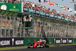Ganador Sebastian Vettel, Ferrari SF70H