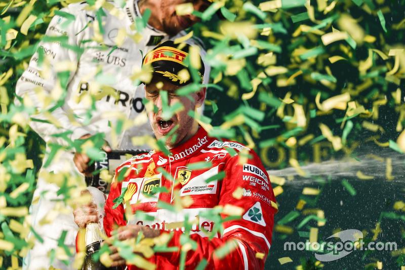 2017 Sebastian Vettel, Ferrari