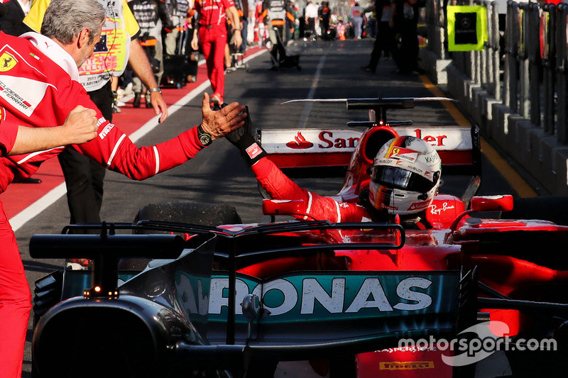 Sebastian Vettel, 1º