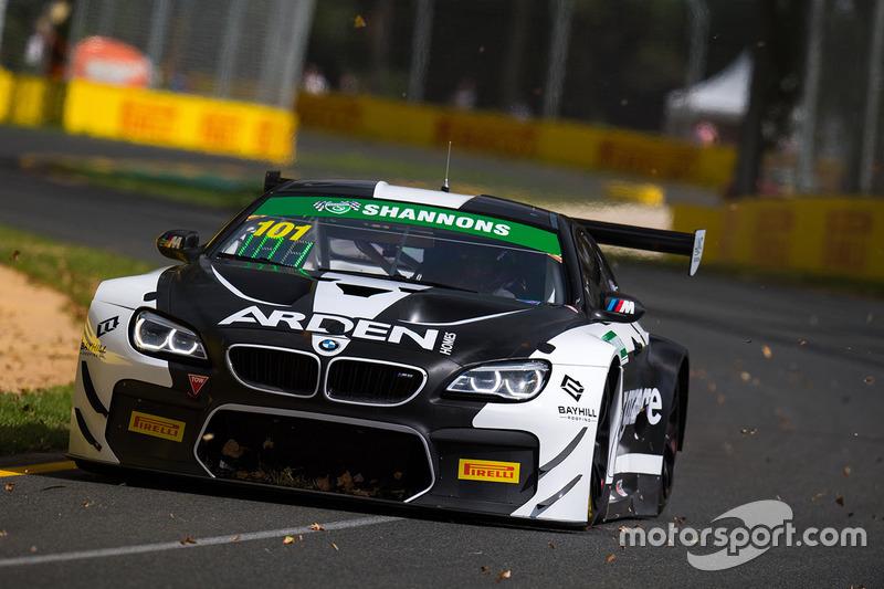 #101 DJS Racing, BMW M6 GT3: Danny Stuttered