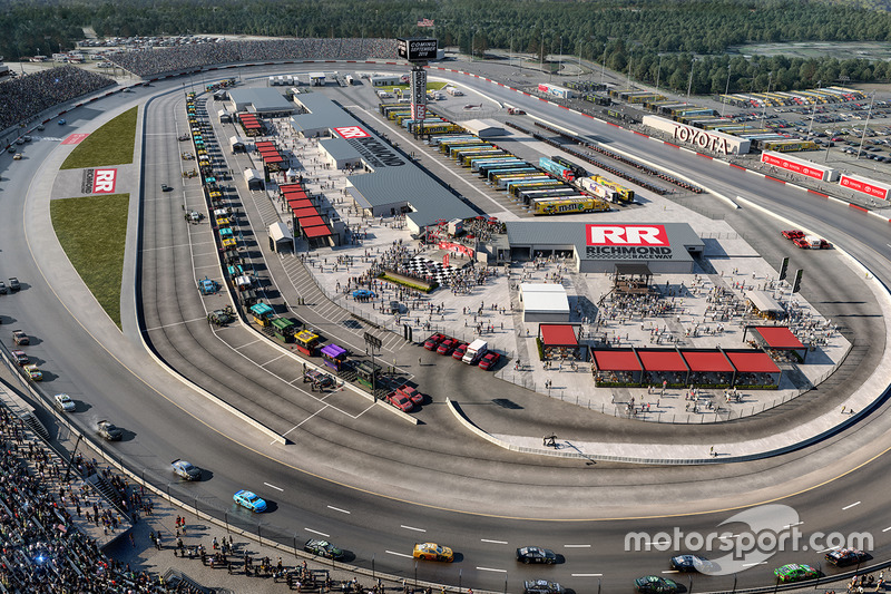 Cambios propuestos al Richmond International Raceway