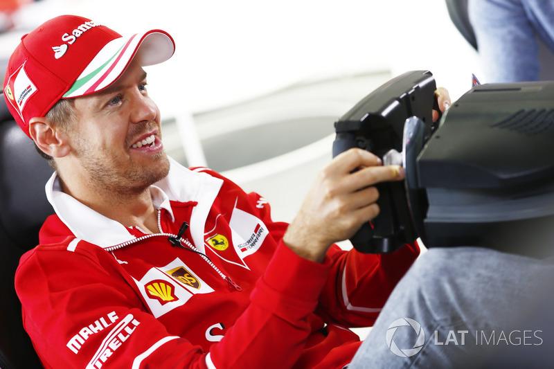 Себастьян Феттель, Ferrari, гра у комп'ютерну гру