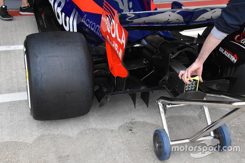 Scuderia Toro Rosso STR12 rear