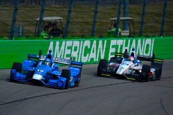Tony Kanaan, Chip Ganassi Racing Honda, Ed Jones, Dale Coyne Racing Honda