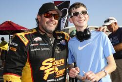 Brendan Gaughan, Richard Childress Racing Chevrolet, mit Fans