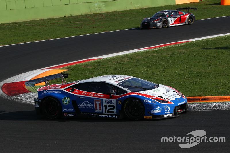 Lamborghini Huracan-S.GT3 #12 Ombra Racing: Beretta - Frassineti