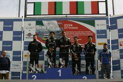 Podio S.GTCup gara 2, Kasai-Perullo (Antonelli Motorsport,Lamborghini Huracan-S.GTCup #102), Desider