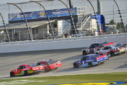 Justin Allgaier, JR Motorsports Chevrolet, Erik Jones, Joe Gibbs Racing Toyota, Elliott Sadler, JR M