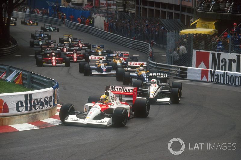 1991 Ayrton Senna, McLaren