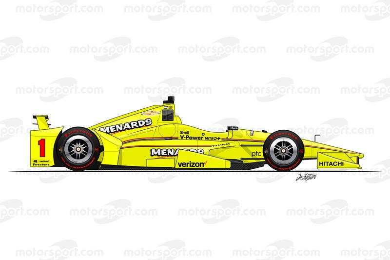 #1 - Simon Pagenaud, Team Penske Chevrolet