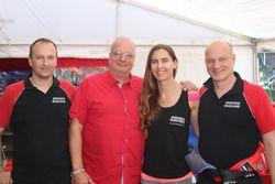 Roland Eggimann, Michael Kroll, Chantal Kroll, Martin Kroll, BMW M3, Hofor Racing