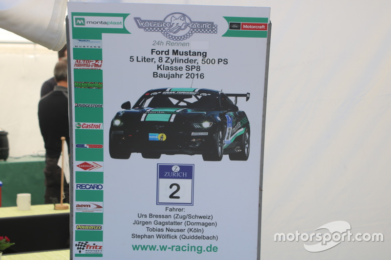 rs Bressan, Ford Mustang GT WR, Wölflick Racing