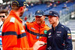 Max Verstappen, Red Bull Racing, mit Sportwart