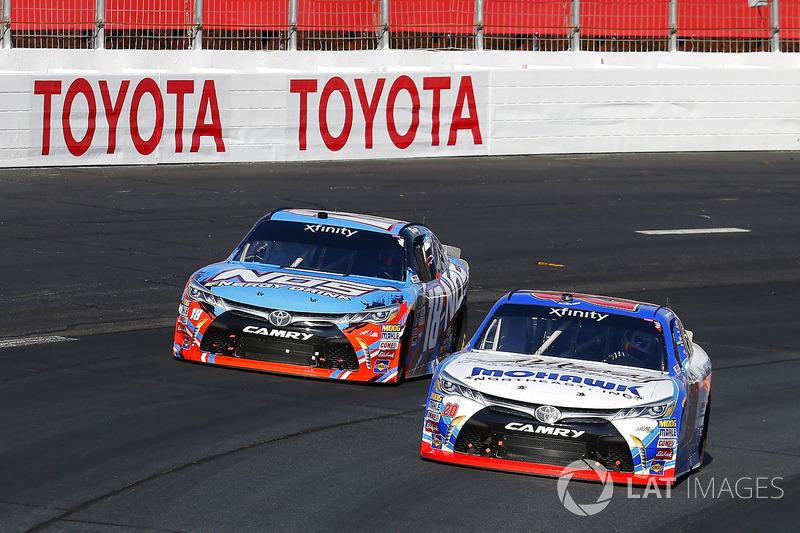 Ryan Preece, Joe Gibbs Racing Toyota, Kyle Busch, Joe Gibbs Racing Toyota