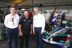 Alejandro Agag, Formula E CEO, Michael Andretti, Jens Marquardt, Direttore BMW Motorsport