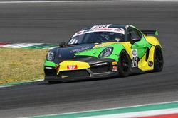 Porsche Cayman GT4 CS #205 Kinetic Racing: Pizzola:Neri