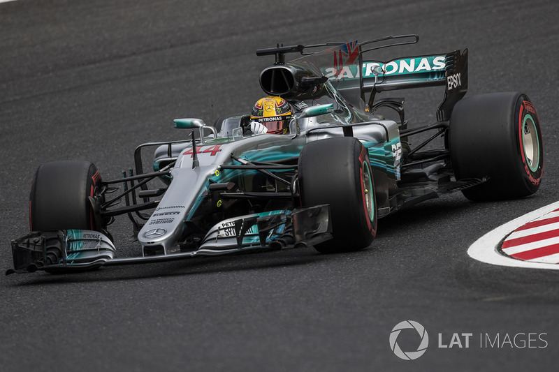 2017: Lewis Hamilton, Mercedes F1 W08 EQ Power