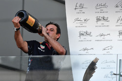 Pierre Wache, Red Bull Racing Chief Engineer Performance Engineering