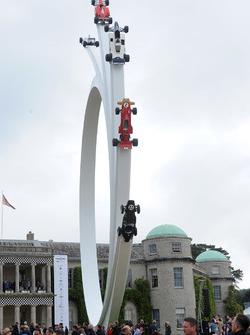 Monumento para Bernie Ecclestone