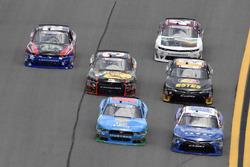 Matt Tifft, Joe Gibbs Racing Toyota, Casey Mears, Biagi-DenBeste Racing Ford, Jeb Burton, JGL Racing