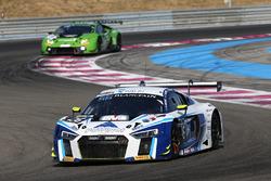 #26 Sainteloc Racing Audi R8 LMS GT3: Grégory Guilvert, Christian Kelders, Marc Rostan