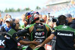 Deuxième place pour Kenan Sofuoglu, Kawasaki Puccetti Racing