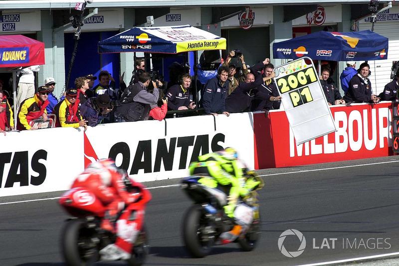"4= GP d'Australie 2001 (Phillip Island) : 0""013"