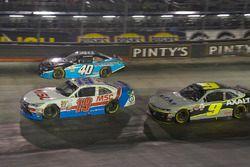 Matt Tifft, Joe Gibbs Racing Toyota, Chad Finchum, Chevrolet Camaro, William Byron, JR Motorsports C