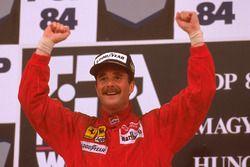 Podium: 1. Nigel Mansell, Ferrari