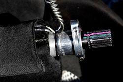 Denny Hamlin, Joe Gibbs Racing Toyota, alloggio del volante