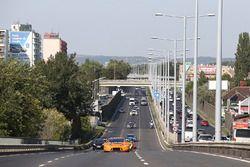 Les GT3 dans les rues de Budapest
