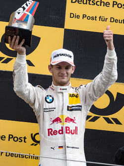 Podium: second place Marco Wittmann, BMW Team RMG, BMW M4 DTM