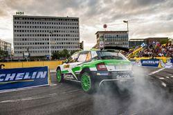 Jan Kopecky, Pavel Dresler, Skoda Fabia R5, Skoda Motorsport