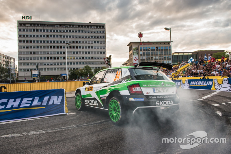 Ян Копецки и Павел Дреслер, Škoda Fabia R5